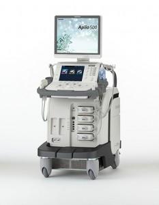 超音波(エコー)装置Aplio500